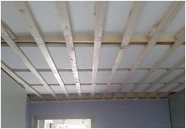 Zwevend plafond plaatsen