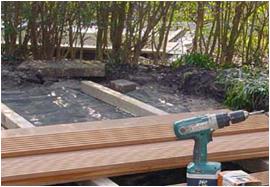 Houten terras renovatiegroep uw rechterhand for Zelf zoldertrap maken
